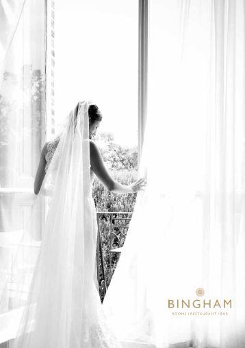 Our Wedding & Civil Partership Brochure - The Bingham Hotel