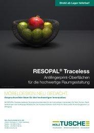 RESOPAL® Traceless
