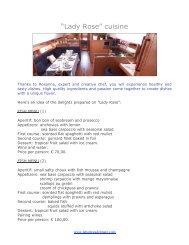 La cucina di Lady Rose-EN - La Bottega del Mare