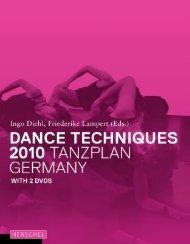 Dance Techniques 2010