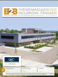 Bauwirtschaft  B2B Themenmagazin 07/08.2020