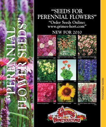 Perennial Seeds