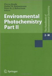 Environmental Photochemistry in Heterogeneous ... - bib tiera ru static