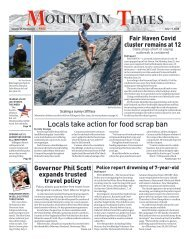 Mountain Times - Volume 49, Number 27 - July 1-7, 2020