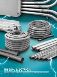 Catálogo de Tuberías Enrutamiento Eléctricas Carbone Electric