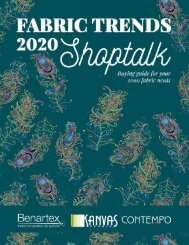 Fabric Trends 2020 Shoptalk (July Edition)
