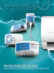 Catálogo Protectores de Voltaje Carbone Electric