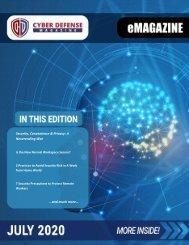 Cyber Defense eMagazine July 2020 Edition