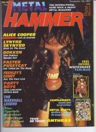 Metal Hammer  UK 1987  -15