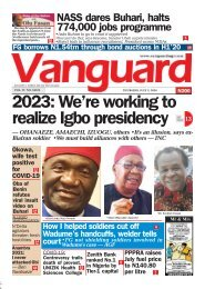 02072020 - 2023: We're working to realize Igbo presidency