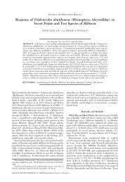 Response of Trialeurodes abutiloneus (Homoptera: Aleyrodidae) to ...