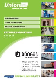Katalog Betriebseinrichtung 2019-2020