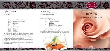 Dressing apfel-rose