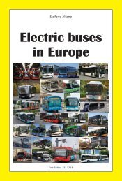 Electric buses in Europe