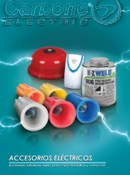 Catálogo de Accesorios Eléctricos Carbone Electric