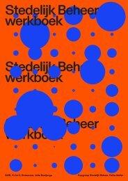 Kopgroep Stedelijk Beheer - het werkboek
