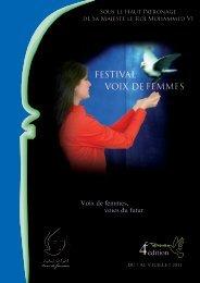 Voix de femmes, voies du futur. - Le Festival Voix de Femmes
