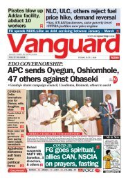 03072020 - APC sends Oyegun, Oshiomhole, 47 others against Obaseki