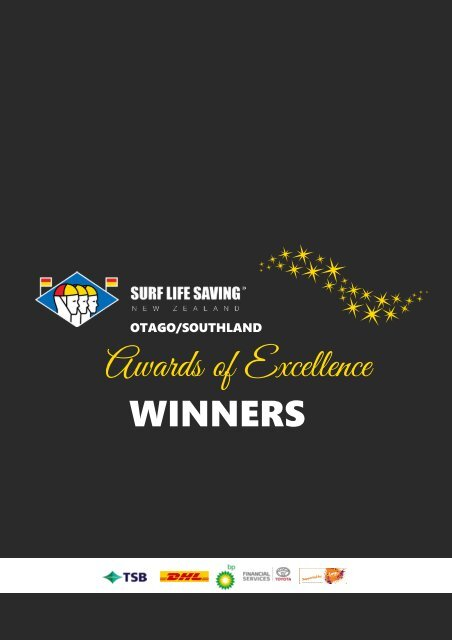 2020 SLSNZ Otago/Southland Awards of Excellence Winners Booklet
