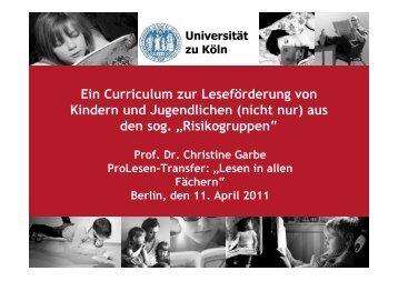 Impulsreferat - Bildungsserver Berlin - Brandenburg