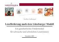Vortrag zum Download (pdf, 6,9 MB) - Stiftung Partner für Schule NRW