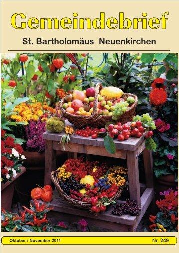 St. Bartholomäus Neuenkirchen - Kirchenkreis Rotenburg
