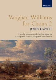 Vaughan Williams for Choirs 2