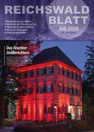 Reichswaldblatt Juli 2020