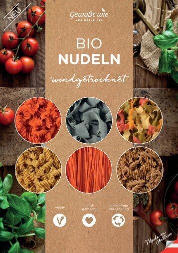 Bio Nudeln