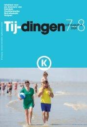 Infoblad Tij-dingen, editie juli-augustus 2020