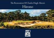 The Restoration Of Charles Hugh Alison's Hirono