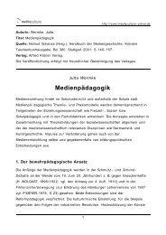 Medienpädagogik - Mediaculture online