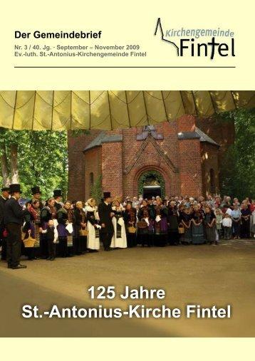 Ausgabe 3/2009 - Kirchenkreis Rotenburg