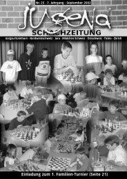 Nr. 25 Sept. 2002 - Nordwestschweizer Schachverband