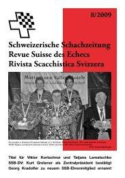 Kurt Gretener - Schweizer Schachbund