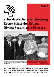 Team-Cup 2012/13 - Schweizer Schachbund