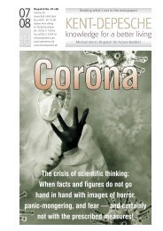Corona - The crisis of scientific thinking