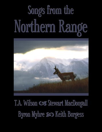 Songs from the Northern Range - Stewart MacDougall