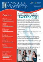 December 2011 - Mornington Peninsula Business Online