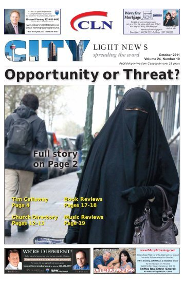 Opportunity or Threat? - City Light News