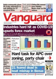 06072020 - Industries hard hit as COVID-19 upsets forex market