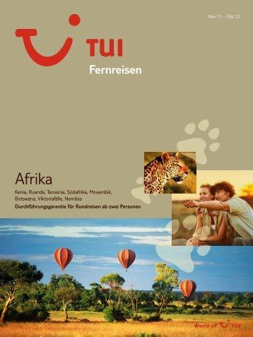 TUI FernreisenAfrika Wi1112