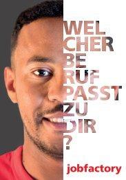 Berufpraktikum Jobfactory - Broschüre