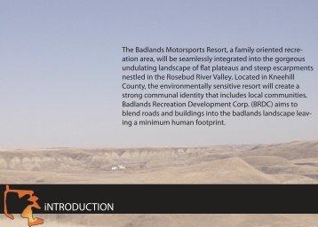 Badlands Motorsports Resort Development