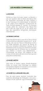 Brochure des Animations des musées pour tout public - Edition 2020-2021 - Page 5