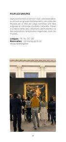 Brochure des Animations des musées pour tout public - Edition 2020-2021 - Page 7