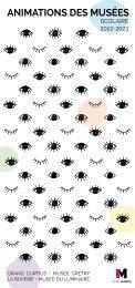 Brochure des Animations des musées pour les écoles - Edition 2020-2021