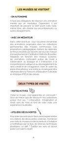 Brochure des Animations des musées pour les écoles - Edition 2020-2021 - Page 6