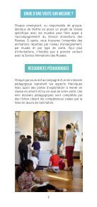 Brochure des Animations des musées pour les écoles - Edition 2020-2021 - Page 7