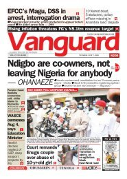 07072020 - Ndigbo are co-owners, not leaving Nigeria for anybody